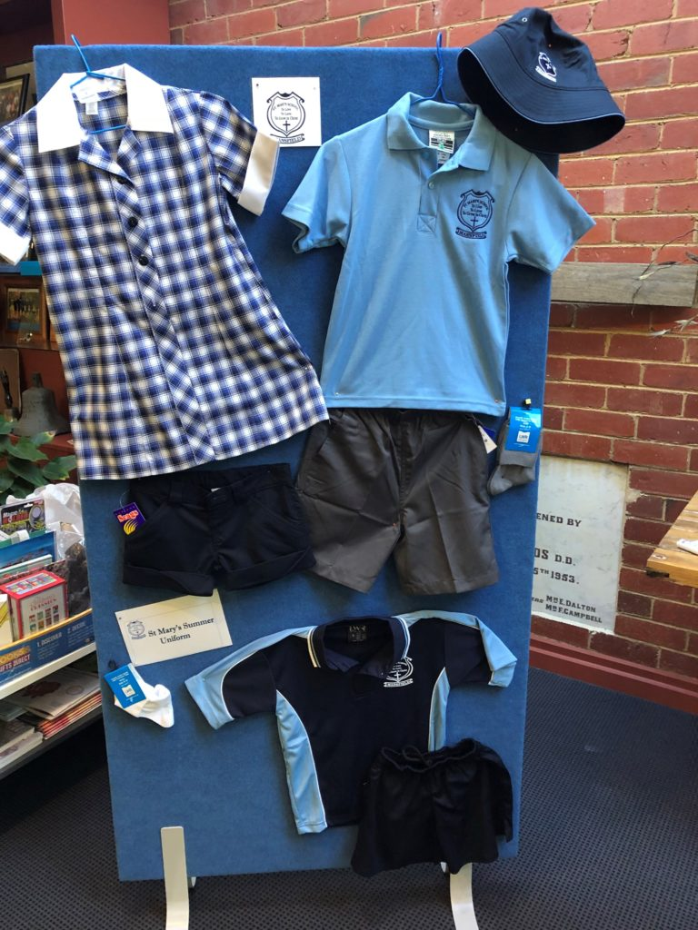 St Marys Mansfield School Uniform