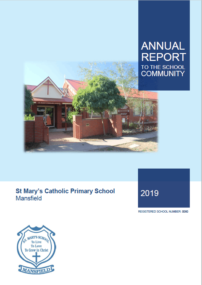 St Marys Primary Mansfield Annual Report 2019